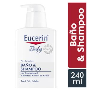 Eucerin Baby Baño & Shampoo 240ml
