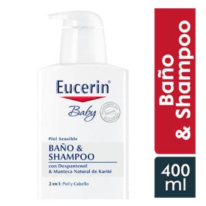 Eucerin Baby Baño & Shampoo 400ml